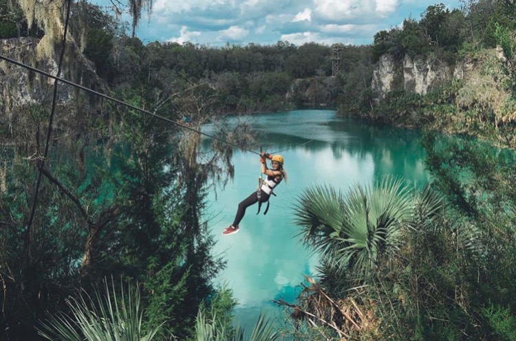 Explre The Canyons Zip Line And Adventure Park Near Ocala