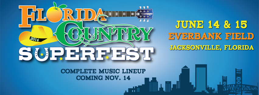 Huge Country Superfest Set To Come To Jacksonville