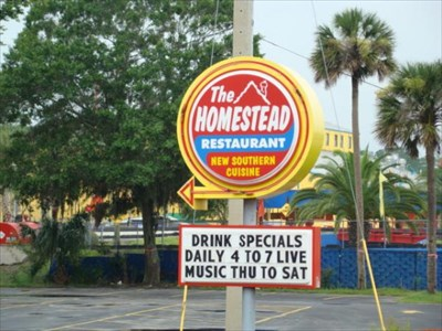 904 Happy Hour Article The Homestead Restaurant Is