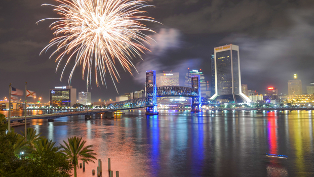 downtown jacksonville new years eve celebration